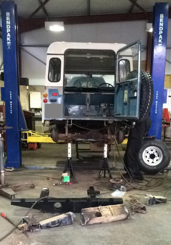 Land Rover Chassis Repair